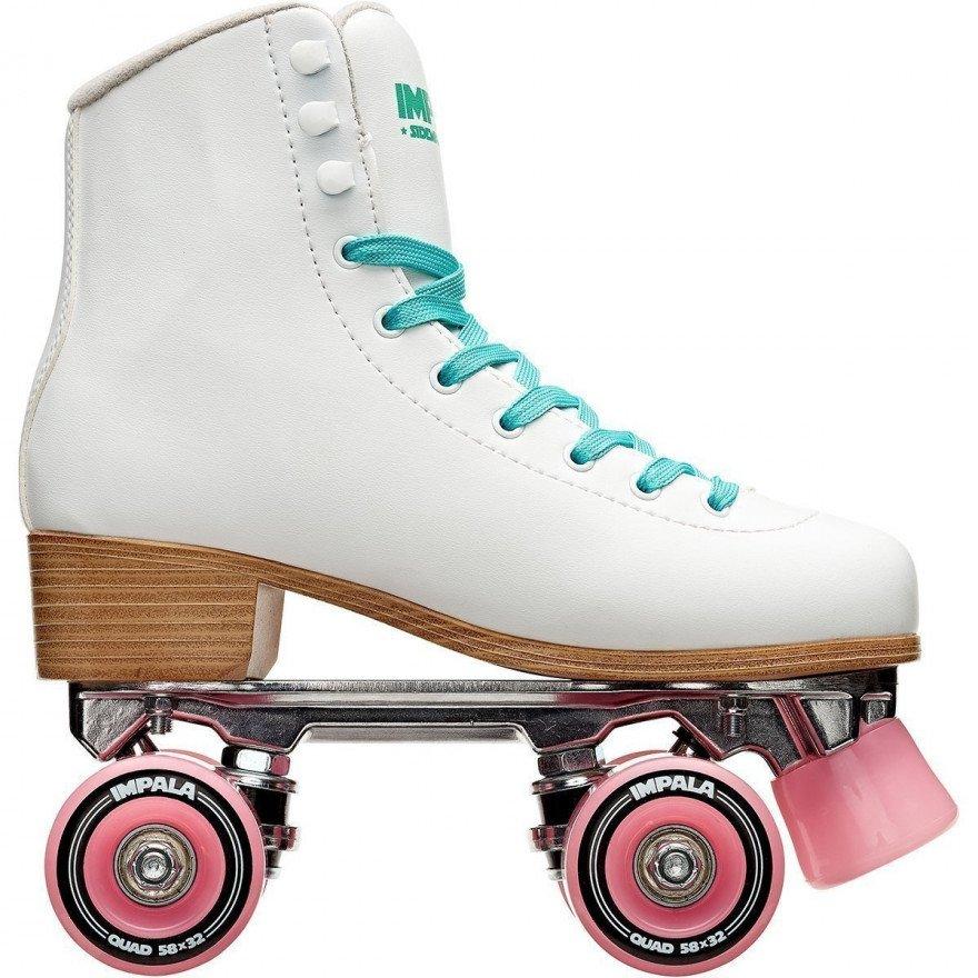 Role QUAD Skate - White/Pink