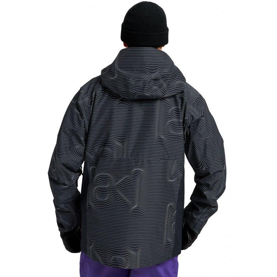 Geaca Snowboard Barbati Burton AK 2L Gore-tex Cyclic - Logo Lines