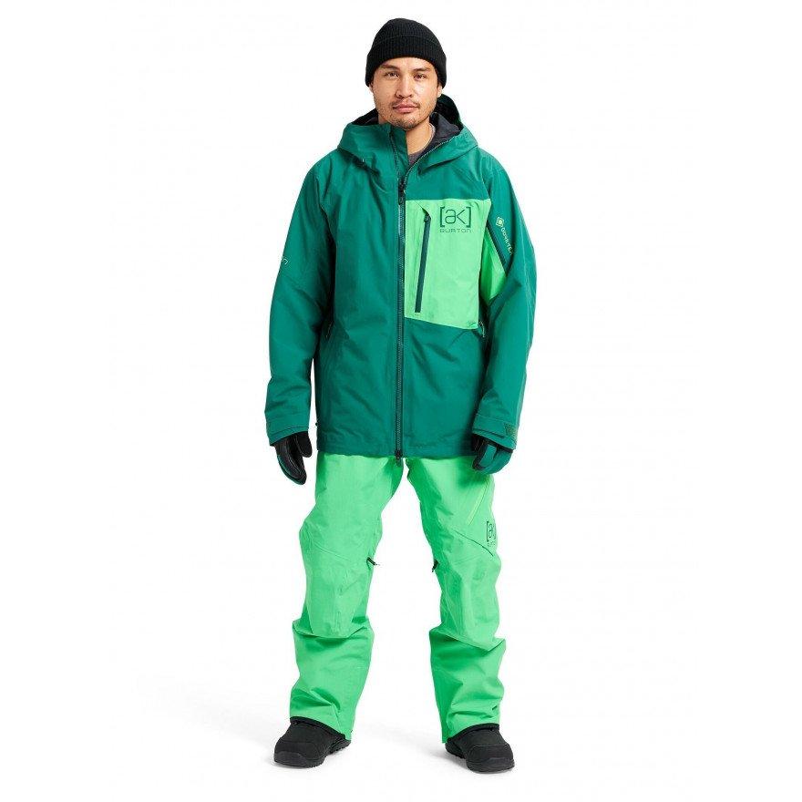 Geaca Snowboard Barbati Burton AK 2L Gore-tex Cyclic - Fir Green Toucan Green
