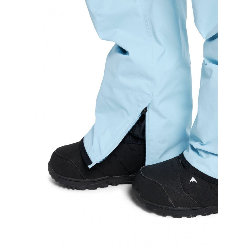 Pantaloni Snowboard Barbati Burton AK 2L Gore-tex Cyclic - Crystal Blue