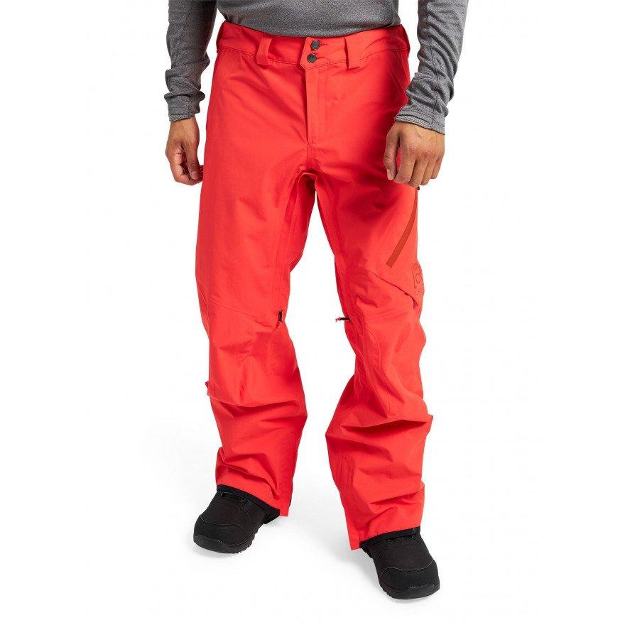 Pantaloni Snowboard Barbati Burton AK 2L Gore-tex Cyclic - Fiesta Red