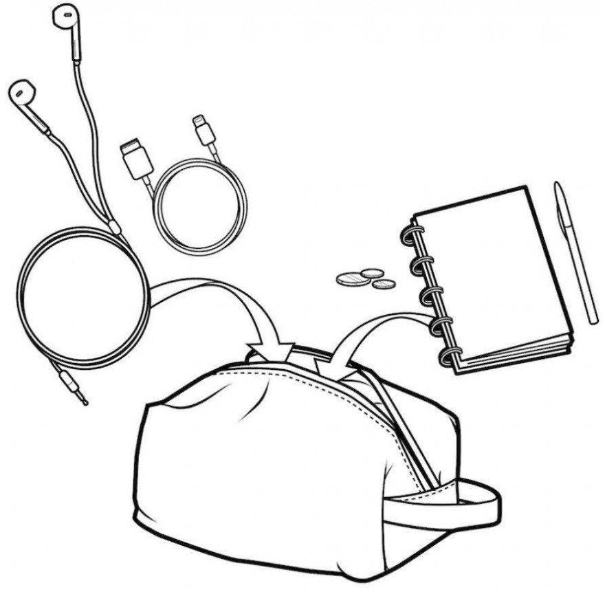 Penar Burton Accessory - Doodle Dot