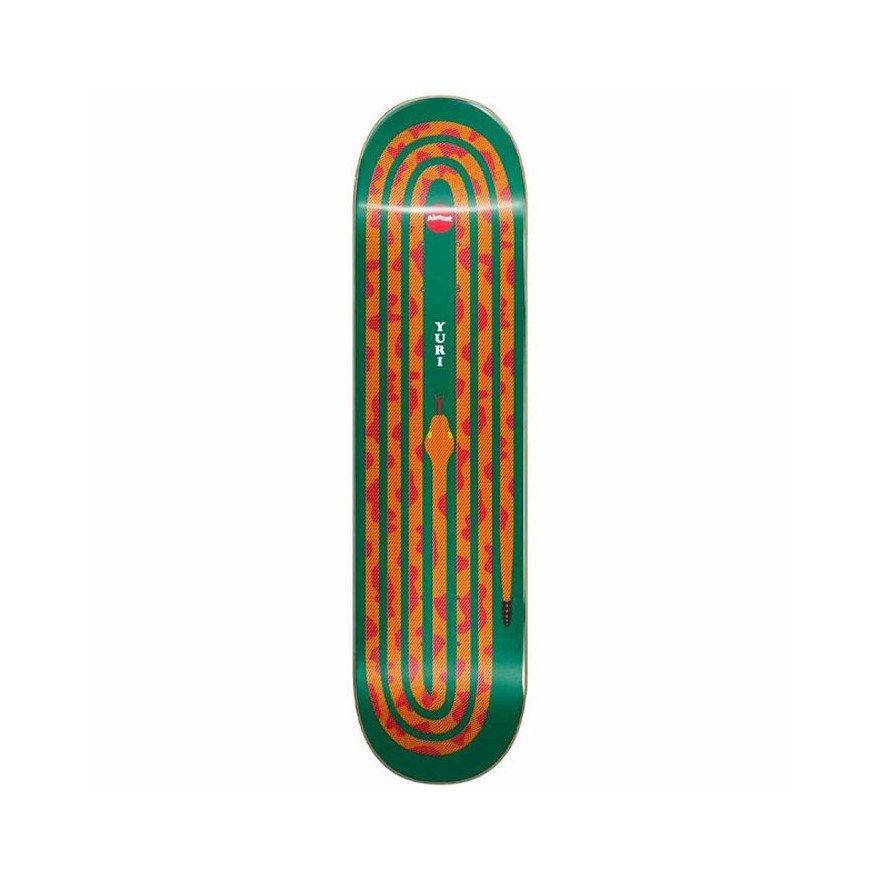 Placa Skateboard Almost Yuri Snake Pit - Orange