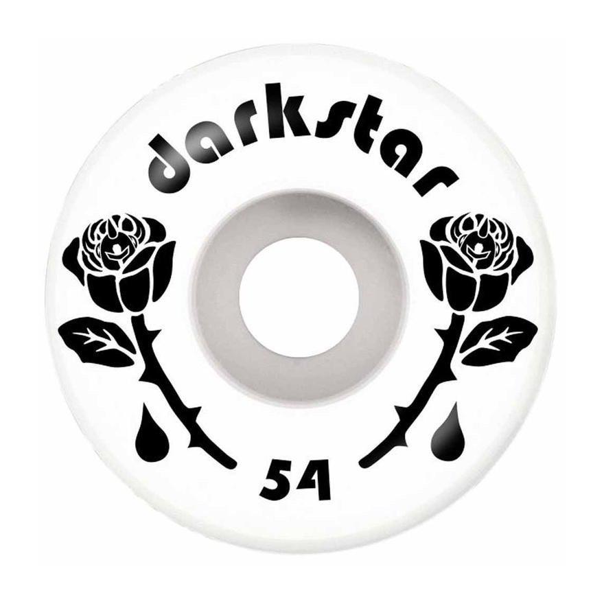 Roti Skateboard Darkstar Forty - Black/White