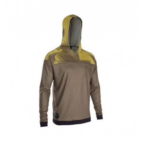 Lycra Ion Wetshirt Hood - Dark Olive