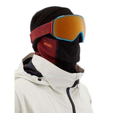 Ochelari de Snowboard Barbati Anon M4 Toric - Maroon Perceive Sunny Bronze