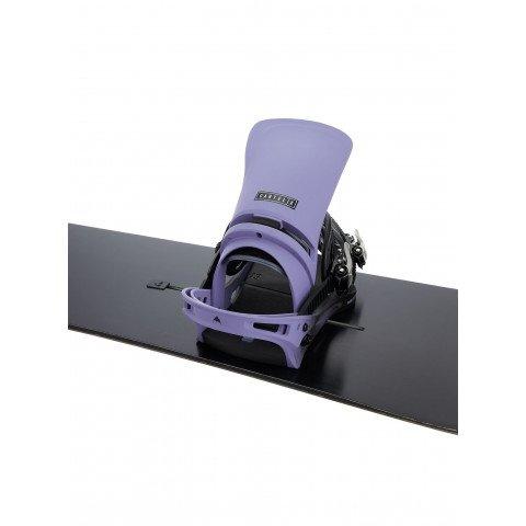 Legaturi Snowboard Barbati Burton Cartel X - Violet Fade