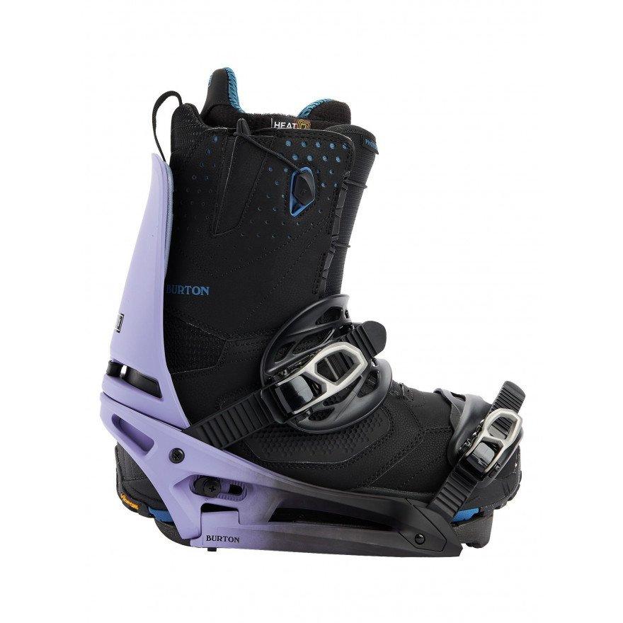 Legaturi Snowboard Barbati Burton Cartel X EST - Violet Fade