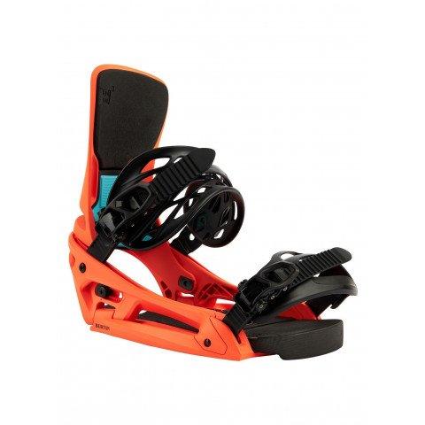 Legaturi Snowboard Barbati Burton Cartel X EST - Orange