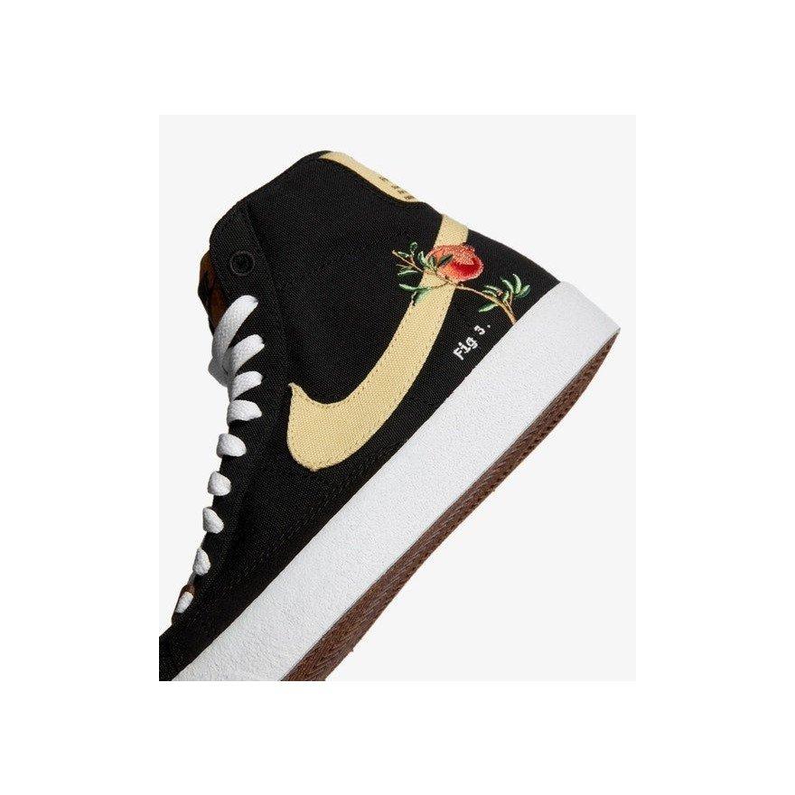 Sneakers Nike Blazer Mid '77 Pomegranate - Black/Solar Flare