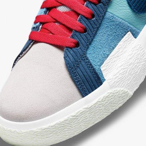 Sneakers Nike Blazer Mid '77 PRM - Lilac/Court Blue