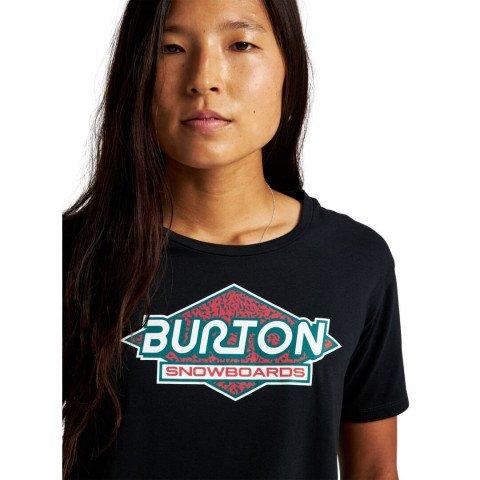 Tricou Dama Burton Batchelder - True Black