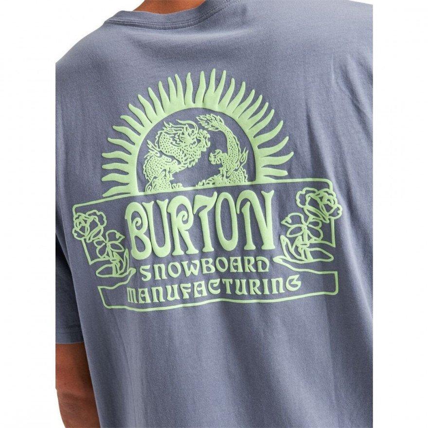 Tricou Barbati Burton Leamington - Folkstone Gray