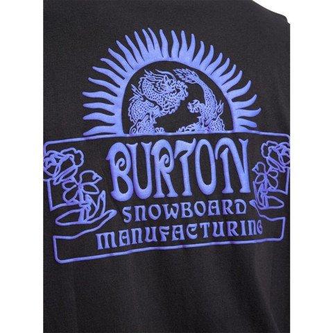 Tricou Barbati Burton Leamington - True Black