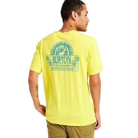Tricou Barbati Burton Leamington - Sulphur Yellow