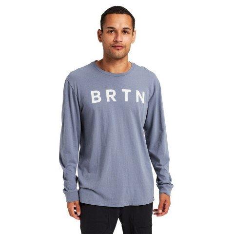 Tricou Unisex Burton BRTN Long - Folkstone Gray