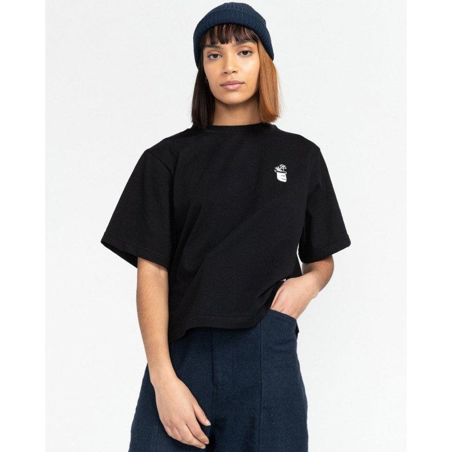 Tricou Dama Element Minimal - Black