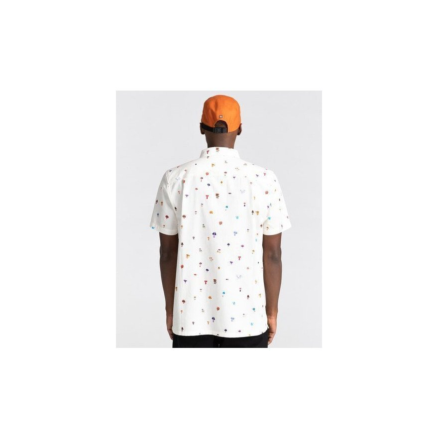 Camasa Casual Barbati Element Shrooms Skyway - Optic White