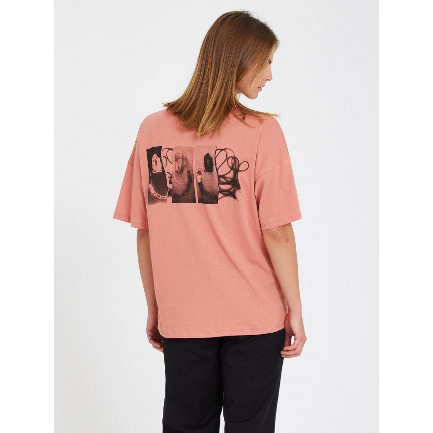 Tricou Dama Volcom Voltrip - Sepia