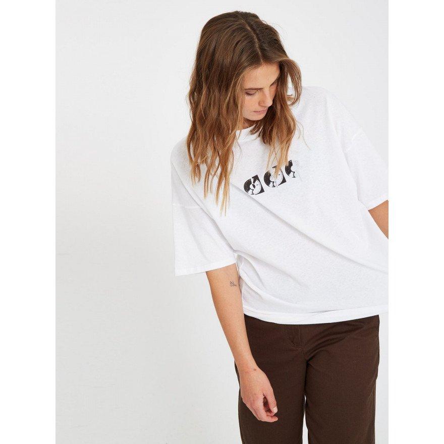 Tricou Dama Volcom Voltrip - White