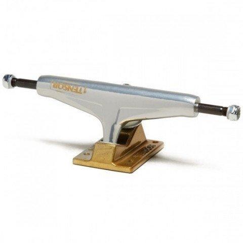 Axe Skateboard Tensor Alum Stencil Mirror - Raw Gold Fade