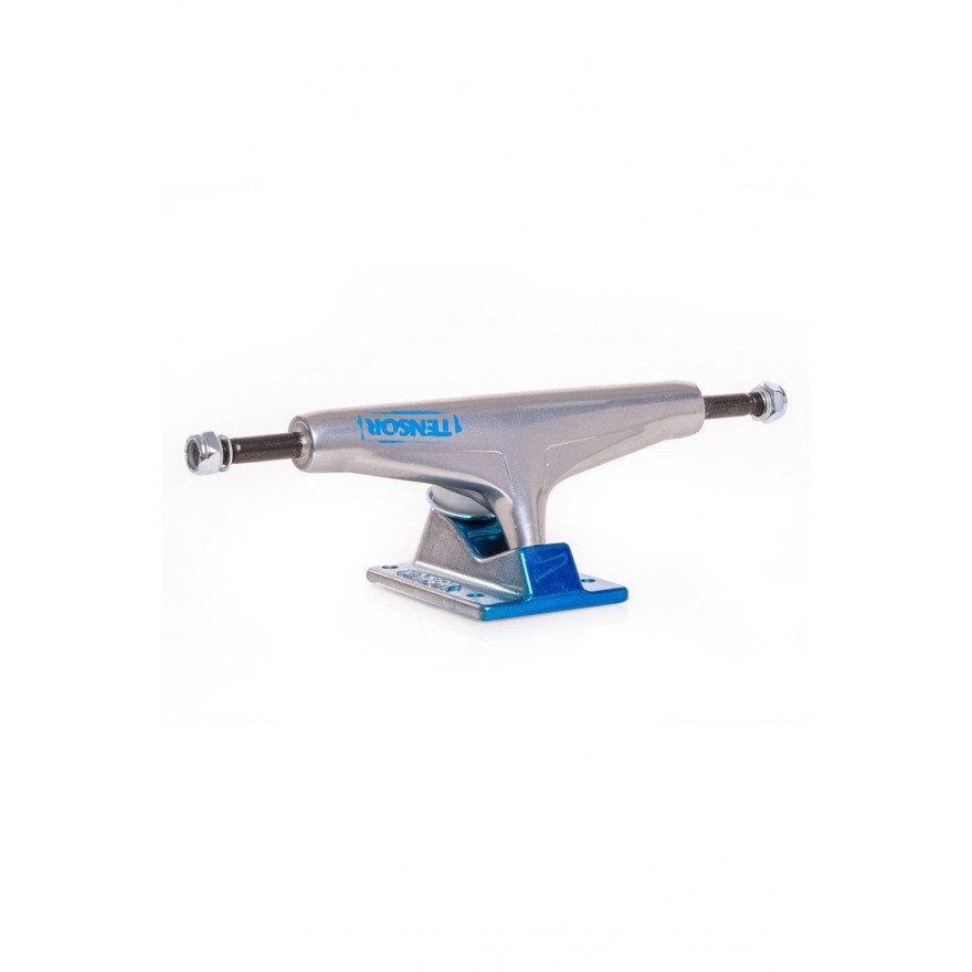 Axe Skateboard Tensor Alum Stencil Mirror - Raw Green Fade
