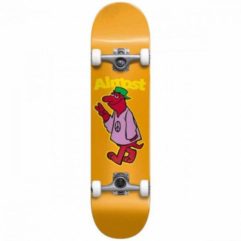 Skateboard Complet Almost Peace Out ORANGE