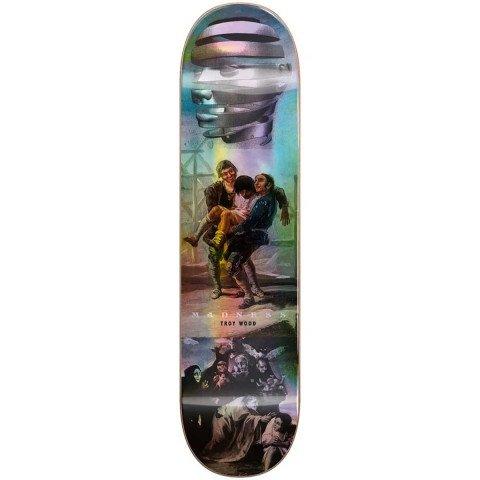 Placa Skateboard Madness Trey Blackout Holographic