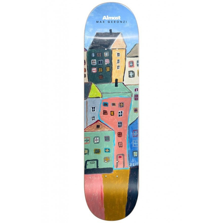 Placa Skateboard Almost Max Places MAX/RIGHT