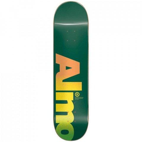 Placa Skateboard Almost Fall Off Logo HYB Green