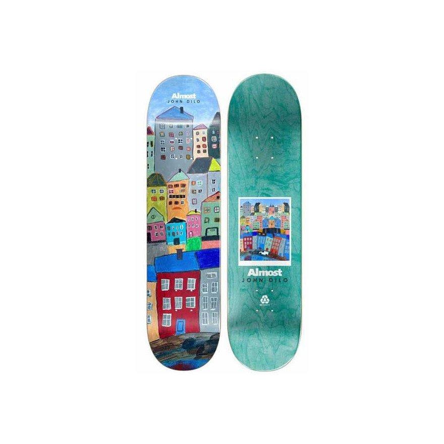 Placa Skateboard Almost Dilo Places DILO/LEFT