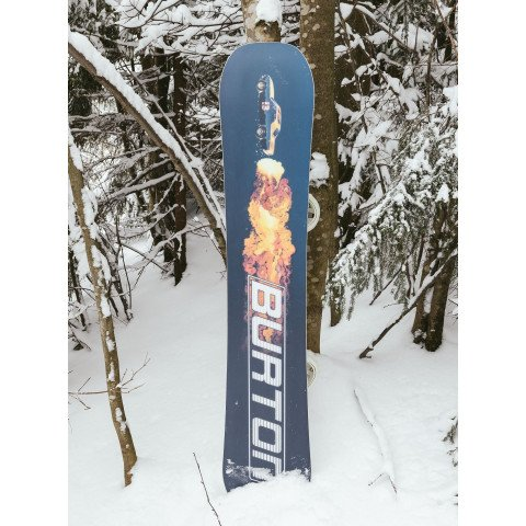 Placa Snowboard Barbati Burton Process