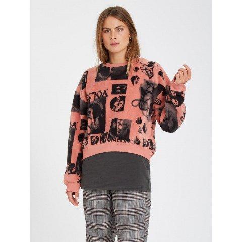 Bluza Dama Volcom Error 76 - Sepia