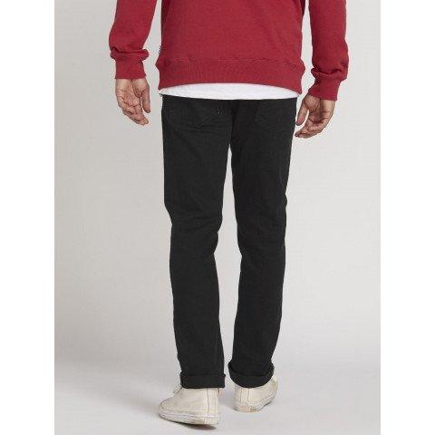 Pantaloni Casual Barbati Volcom Vorta Denim - Black On Black