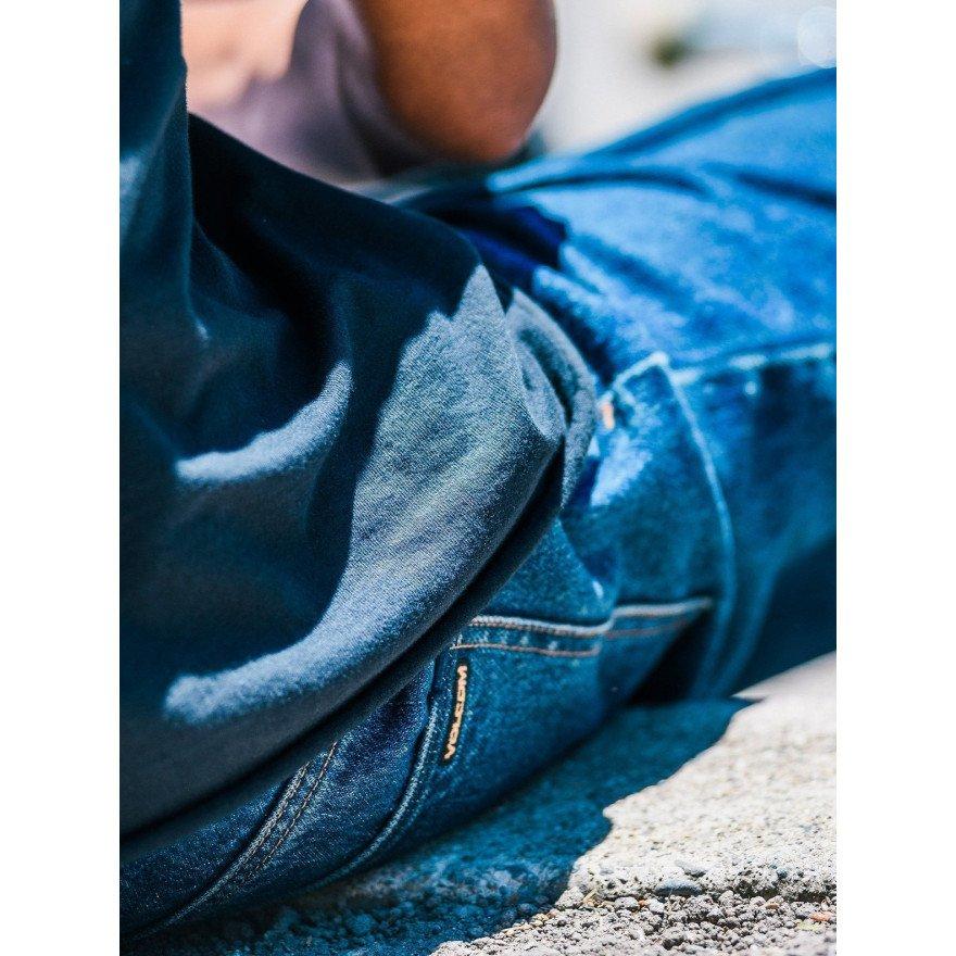 Pantaloni Casual Barbati Volcom LOUIE LOPEZ Tapered Denim - Blue Rinse