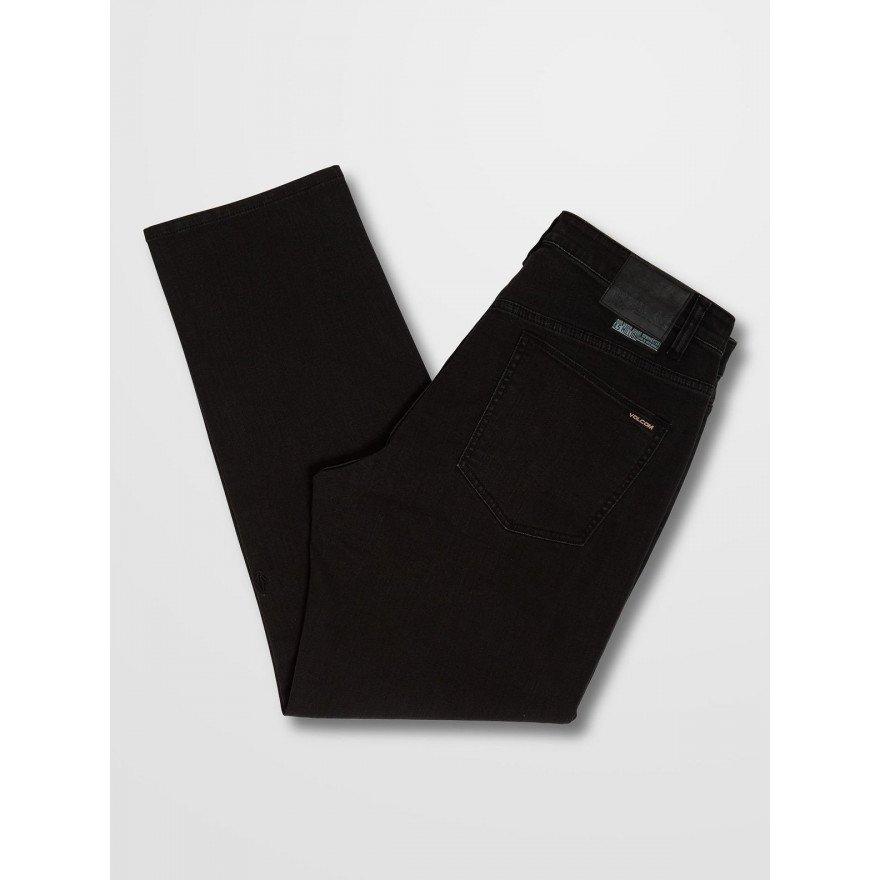 Pantaloni Casual Barbati Volcom Modown Tapered Denim - Ink Black