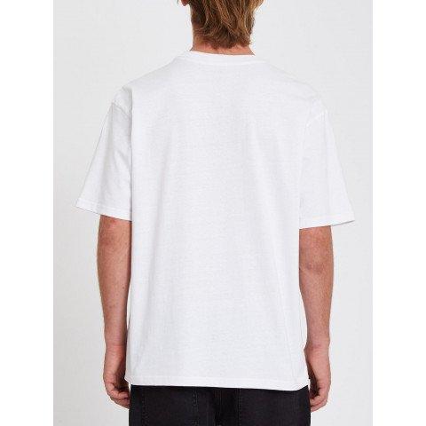 Tricou Barbati Volcom Marrehead - White