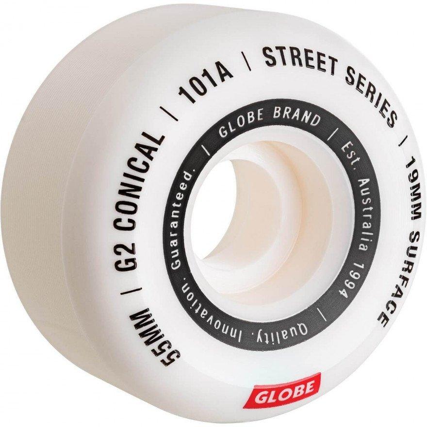 Roti Globe G2 Conical Street Wheel White Essential