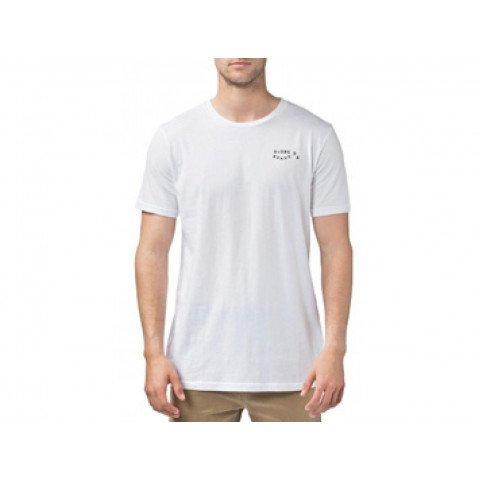 Tricou Barbati Globe Pair O'Dice - white