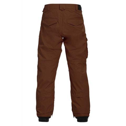 Pantaloni Snowboard Barbati Burton Covert - Chestnut