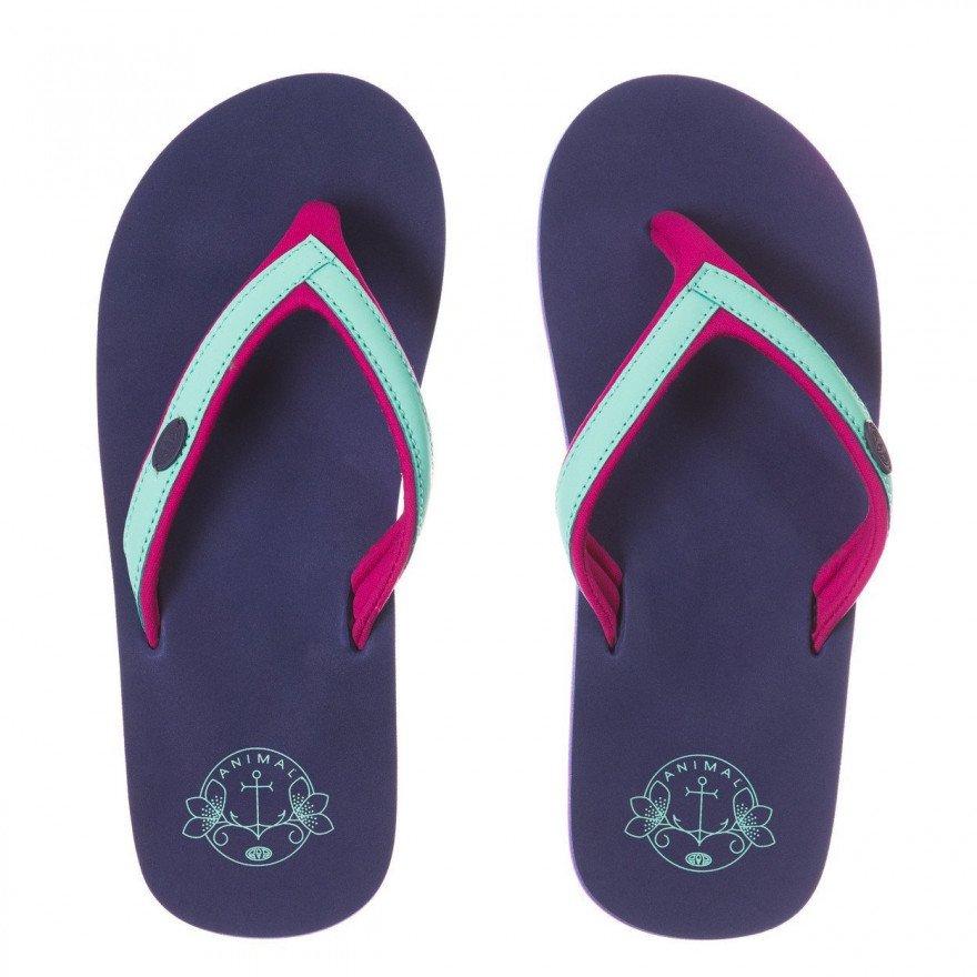Papuci Animal Swish Slim - Sailor Blue