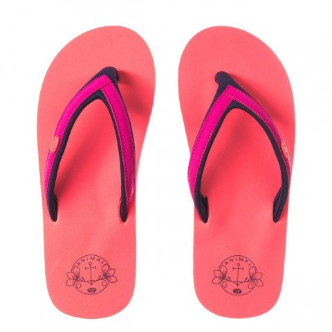 Papuci Animal Swish Slim - Neon Orange