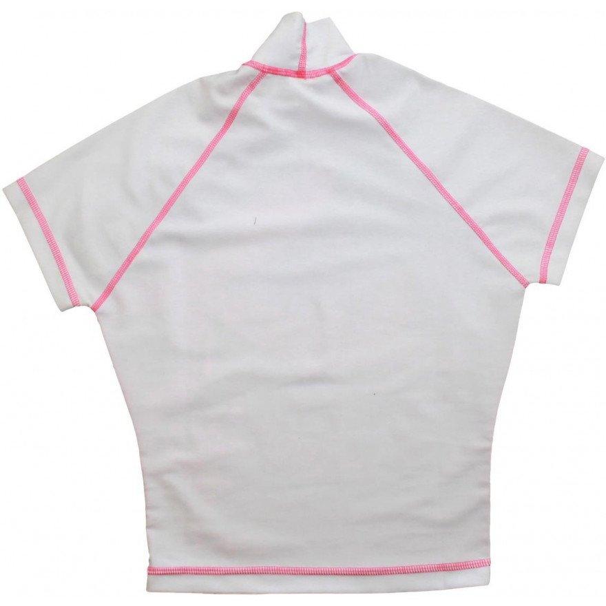 Lycra Animal Rash Vest - White