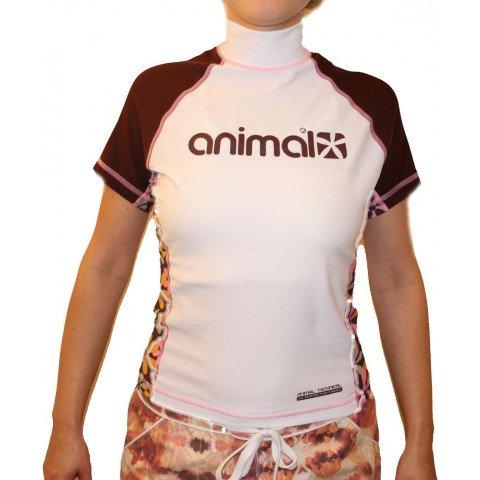Lycra Animal Rash Vest - French Rost