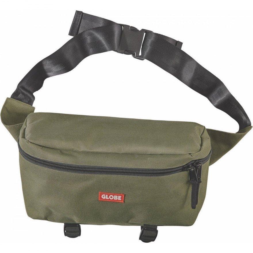 Borseta Globe Bar Shoulder - Olive