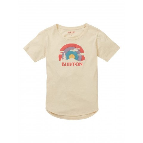 Tricou Copii Burton Callon - Creme Brulee