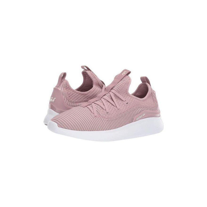 Sneakers Supra Factor - Mauve-White