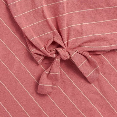 Street Stripes - Faded Rose Pink