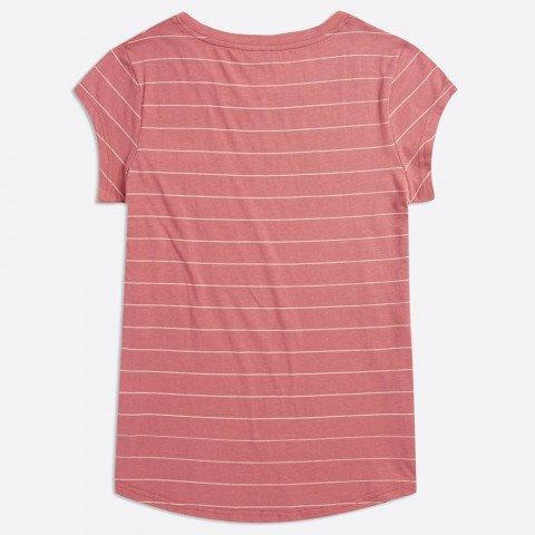 Tricou Dama Animal Sea Stripes - Faded Rose Pink