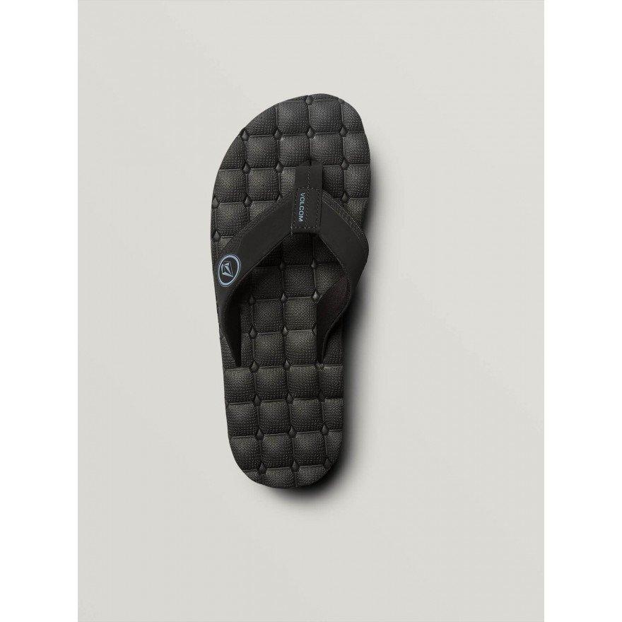 Papuci Volcom Recliner - Black